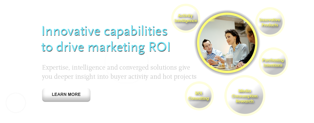 Innovative capabillities to drive marketing ROI